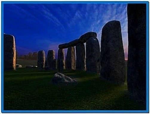 Stonehenge 3D Screensaver and Animated Wallpaper