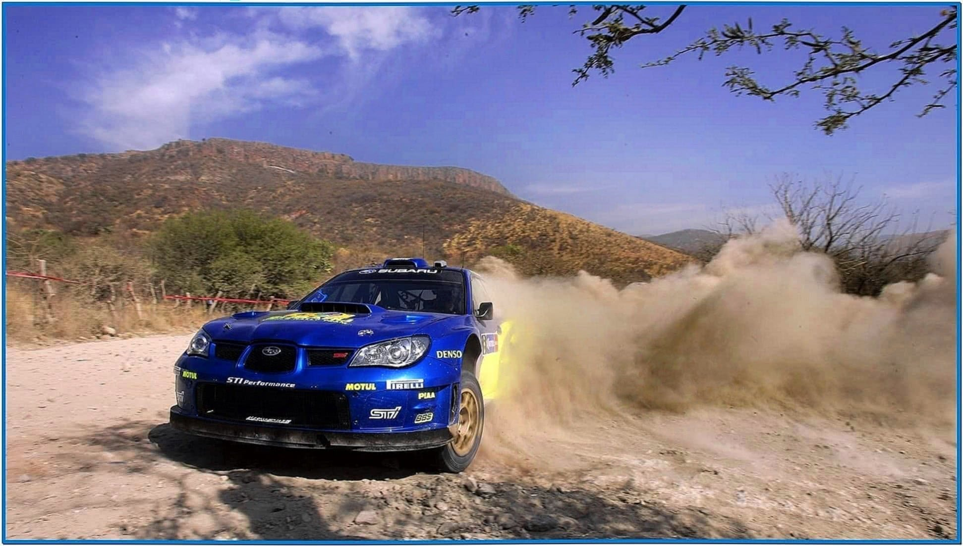 Subaru Rally Screensaver