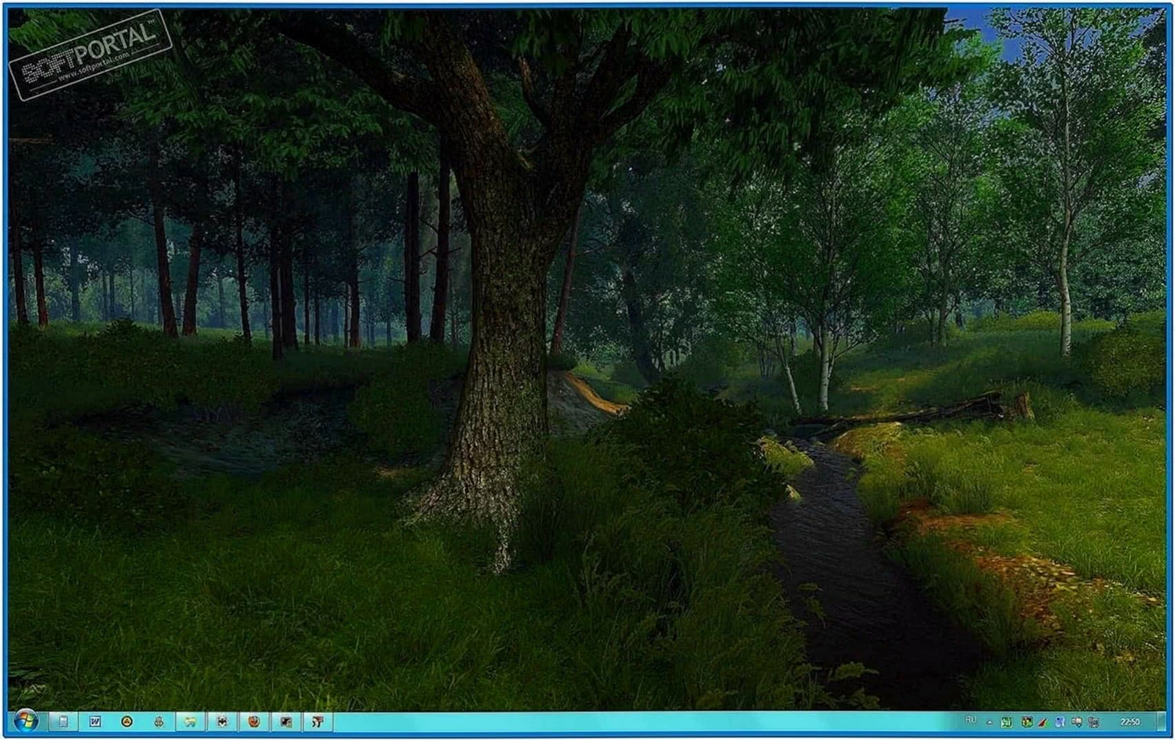 Summer Forest 3D Screensaver