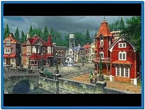 Sun Village 3D Screensaver