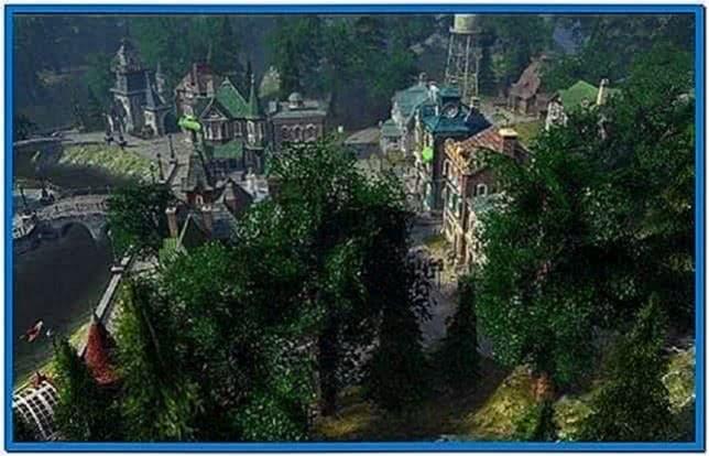 Sun village nv 3d screensaver - Download free