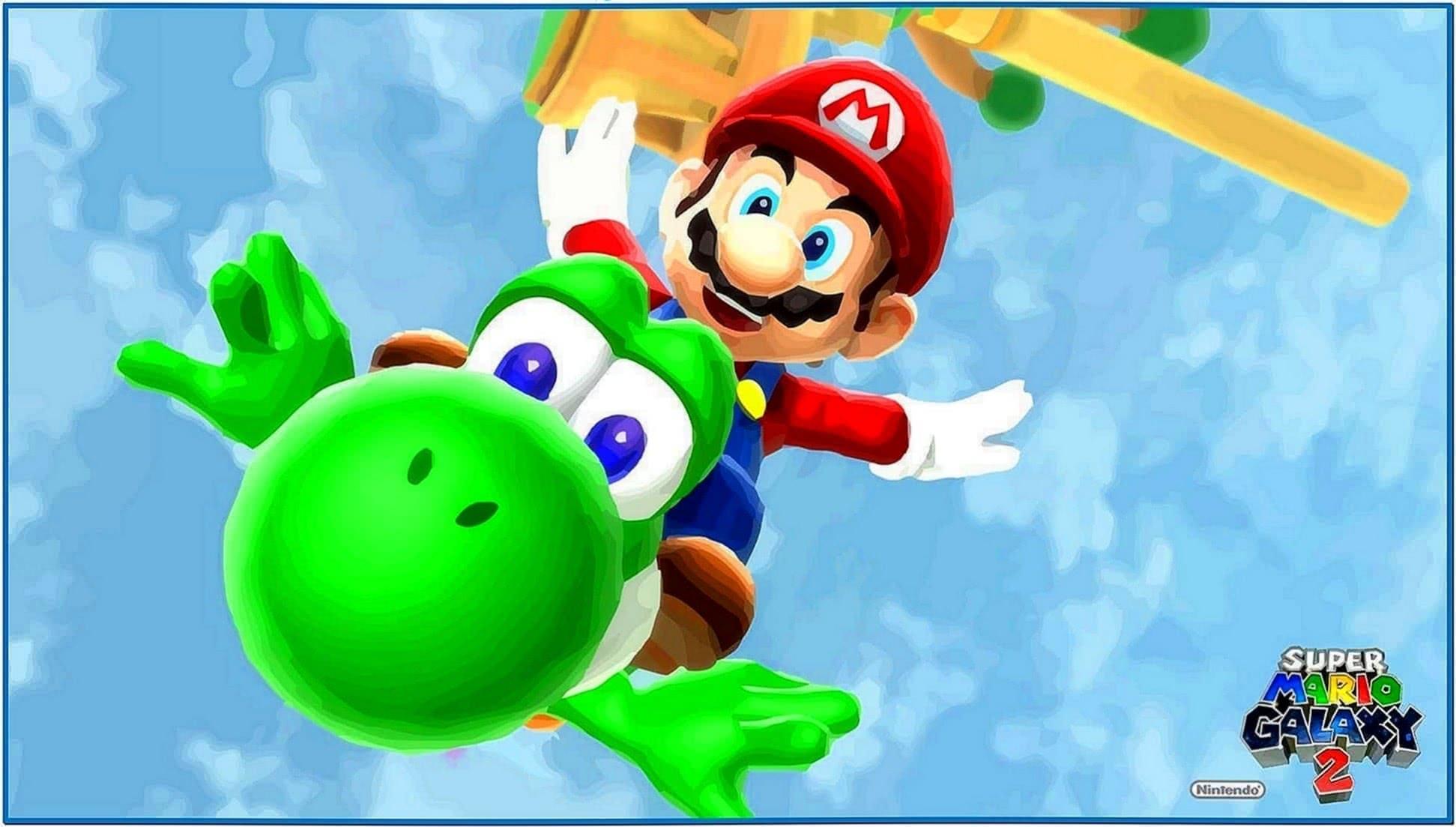 Super Mario Galaxy Screensaver