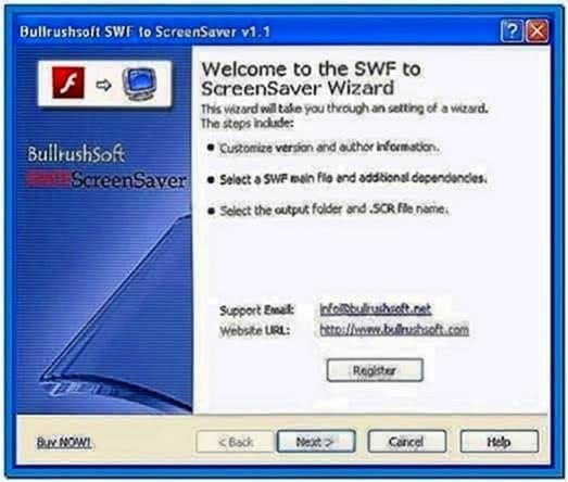 Swf to Screensaver Converter Freeware
