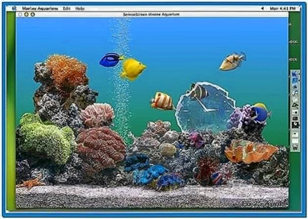 Swimming Fish Screensaver Mac