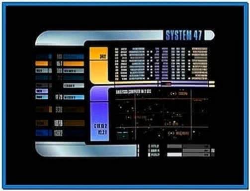 System 47 Lcars Screensaver