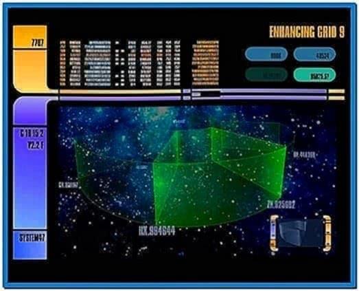 System 47 screensaver Windows 7