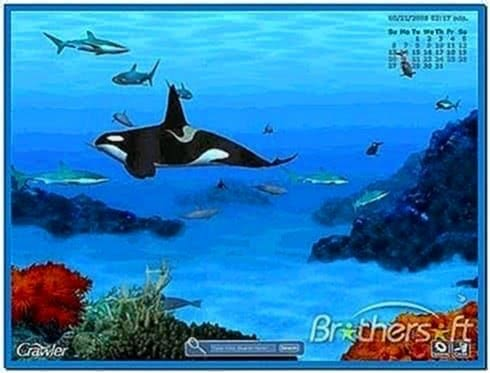 Telecharger Crawler 3D Marine Aquarium Screensaver 4.2.5.9