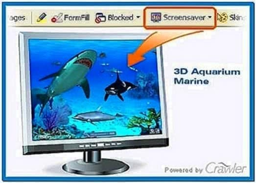 Telecharger Crawler 3D Marine Aquarium Screensaver