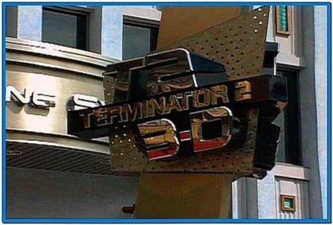 Terminator 3D Screensaver 2.0 2020