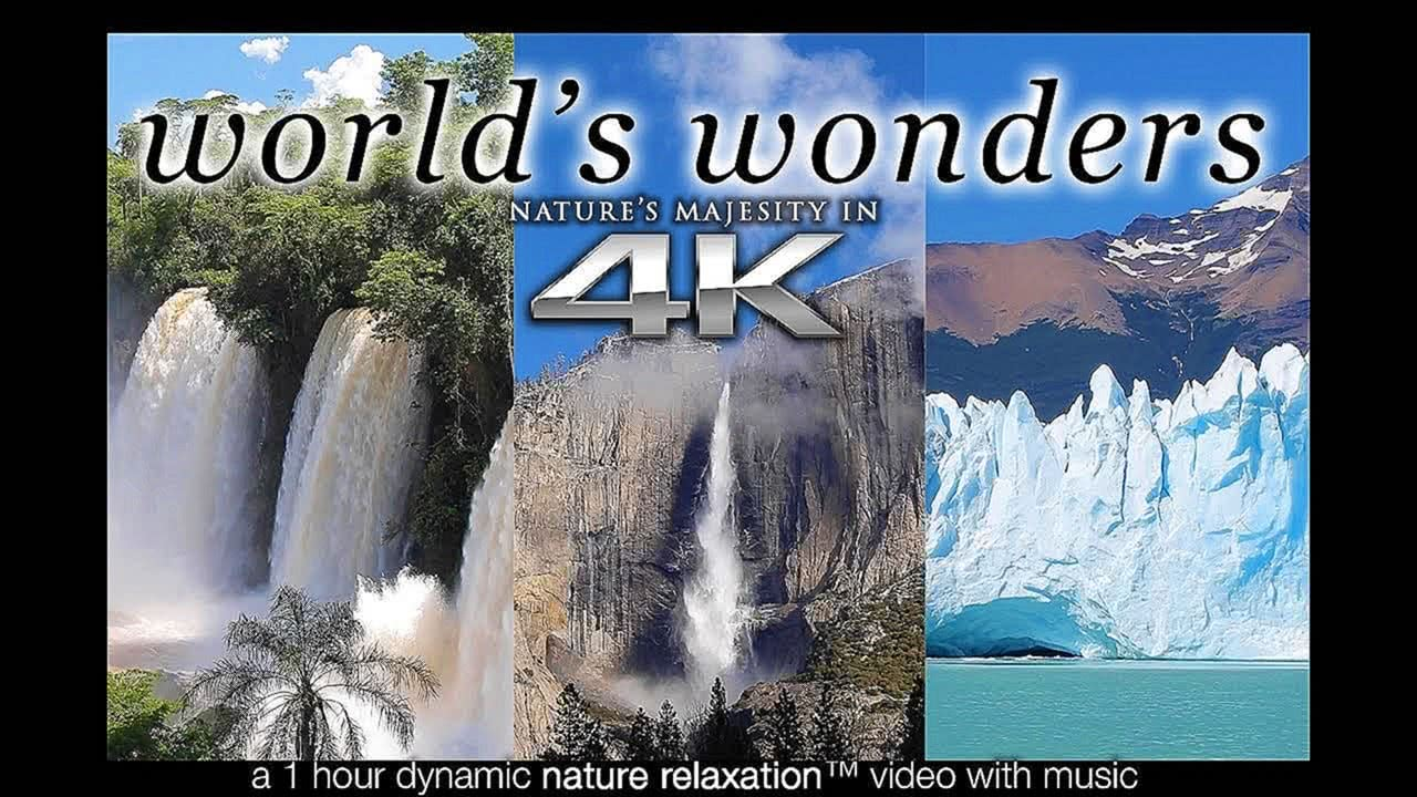 4K Nature Relaxation UHD Music Video Screensaver