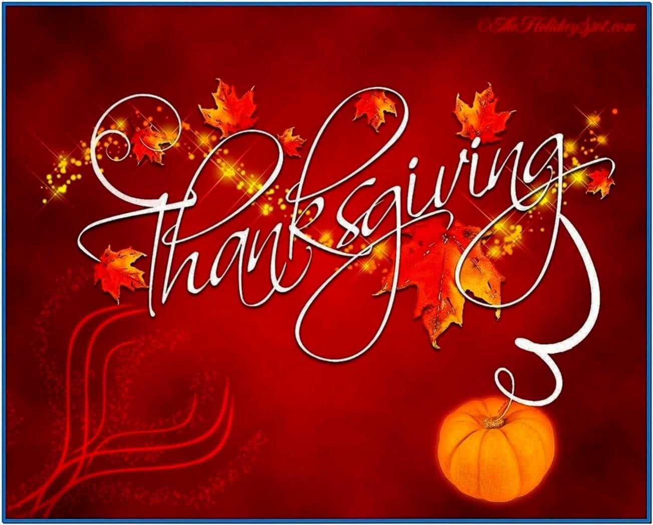 Thanksgiving Desktop Wallpaper and Screensavers