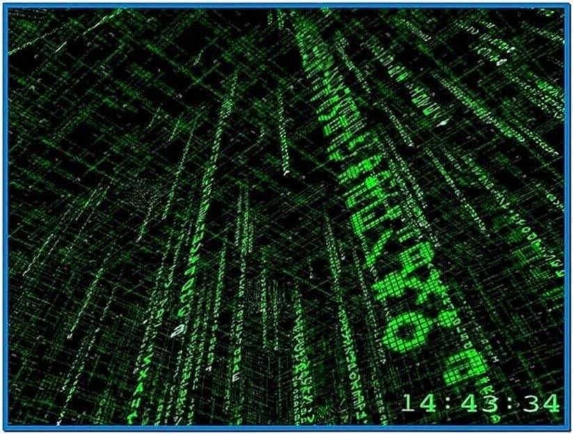 The 3D Matrix Code Screensaver