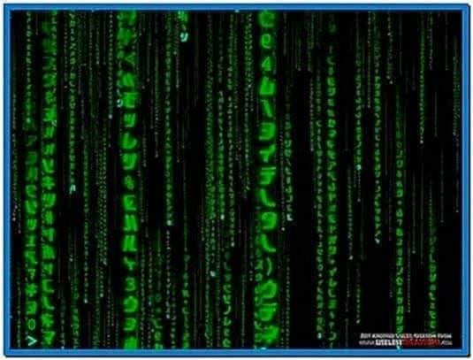 The matrix 3D screensaver
