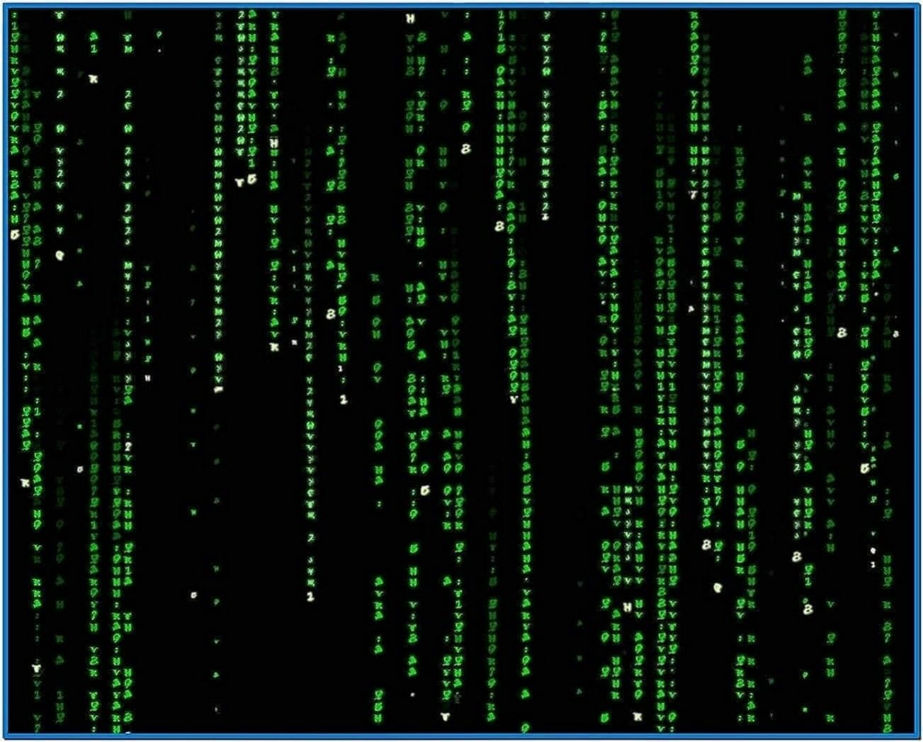 The Matrix Code Screensaver