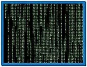 The Matrix Code Screensaver Vista