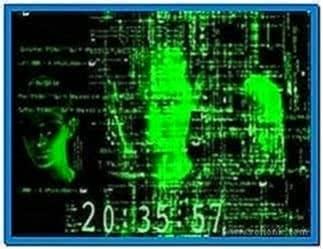 The Matrix Reloaded 3D Screensaver