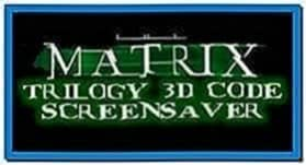 The Matrix Reloaded 3D Screensaver