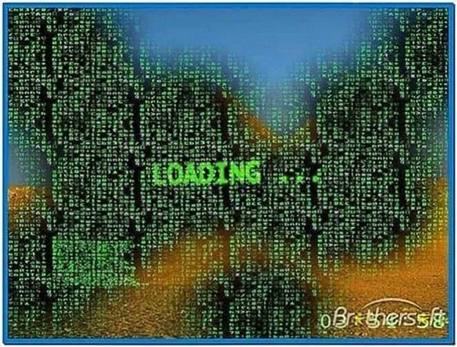 The Matrix Screensaver 3.0