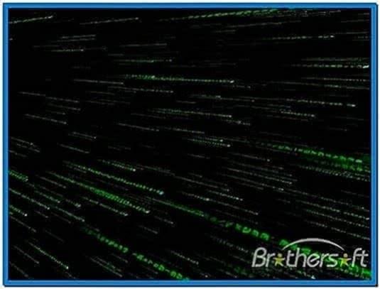 The Matrix Trilogy 3D Code Screensaver