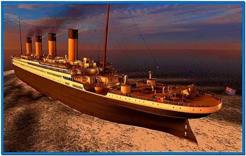 Titanic Memories 3D Screensaver