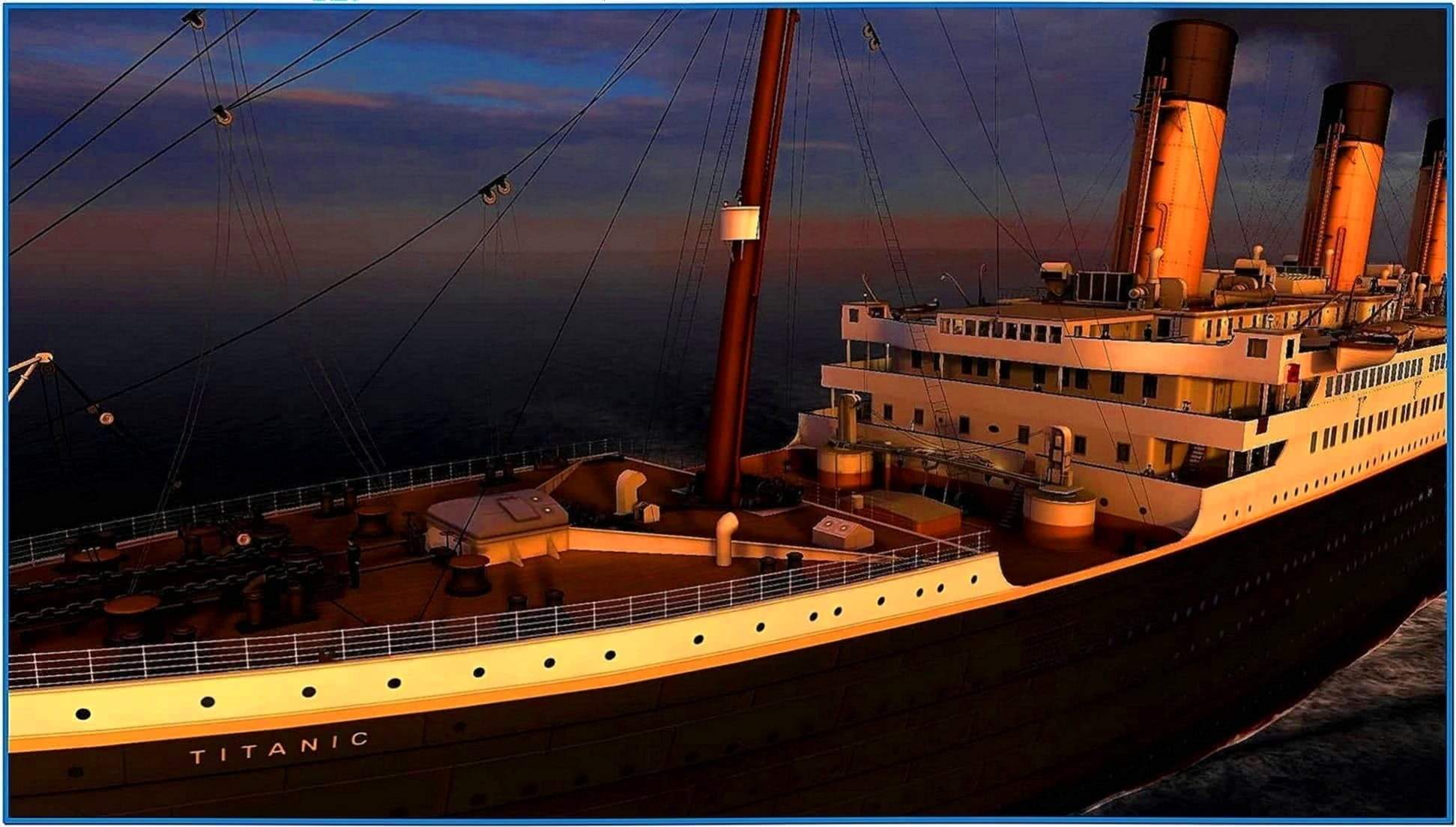 Titanic Memories 3D Screensaver Full