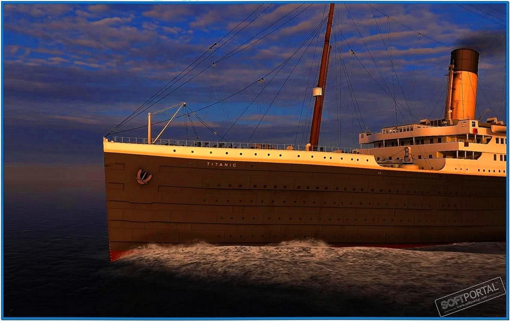 Titanic Memories 3D Screensaver
