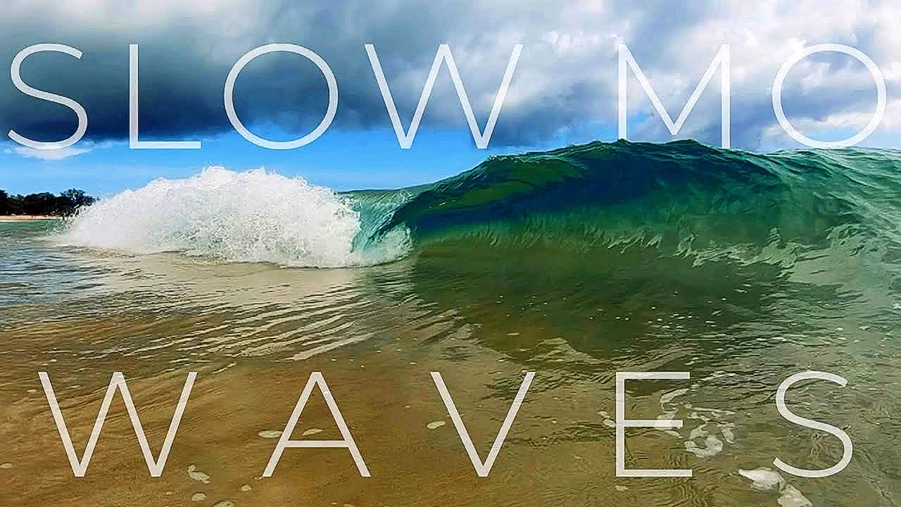 12 Slow Motion Ocean Waves Relaxing Screensaver