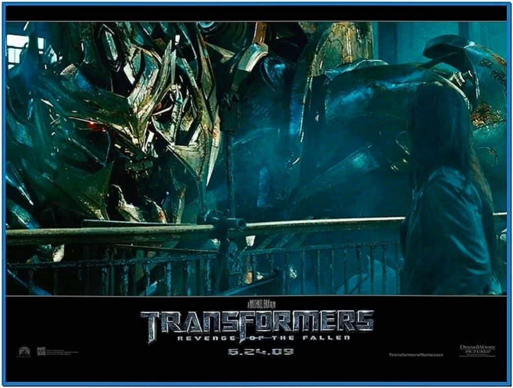 Transformers 2 Revenge of The Fallen Screensaver