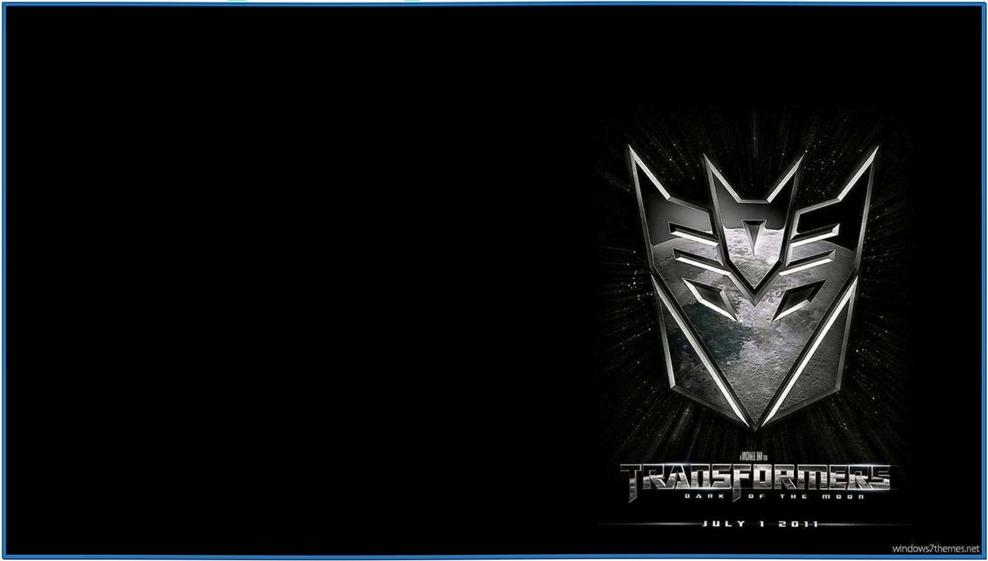 Transformers 3 Screensaver Windows 7