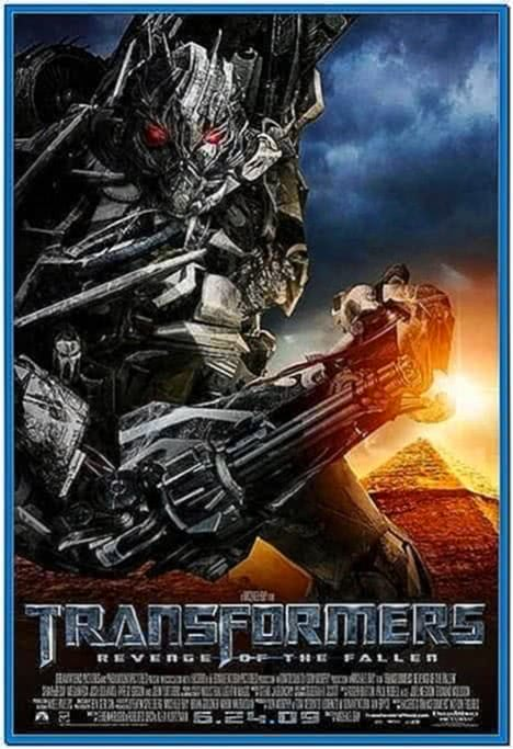 Transformers 3D screensaver