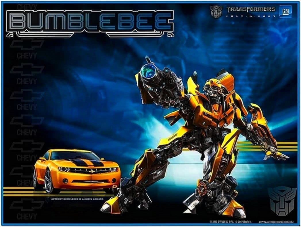 Transformers Bumblebee Screensaver 1.0