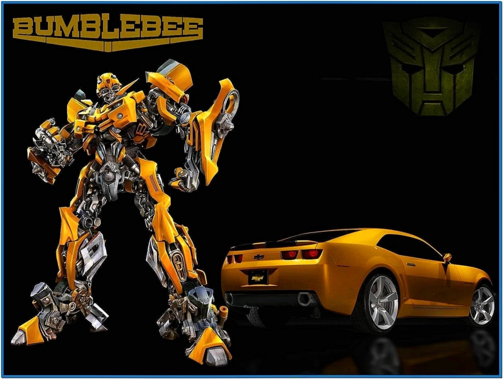 Transformers Bumblebee Screensaver
