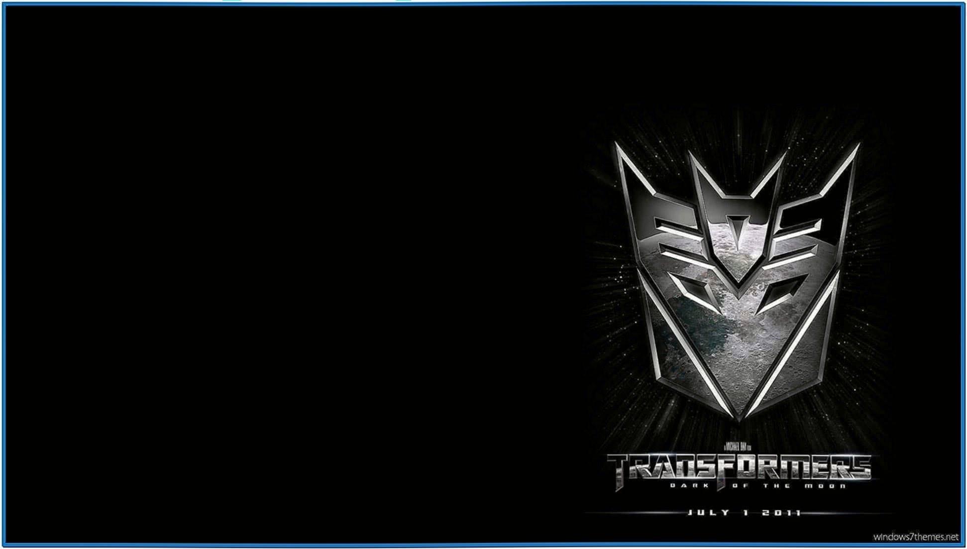 Transformers Movie Screensaver Windows 7
