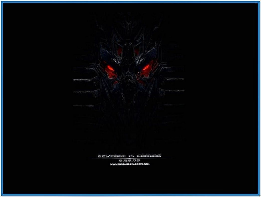 Transformers Movie Stills Screensaver