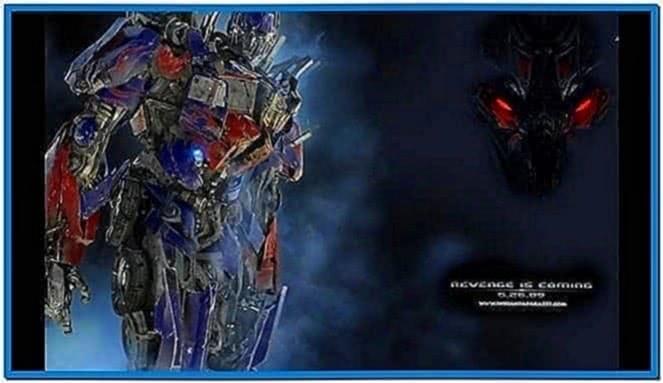 Transformers revenge fallen screensaver