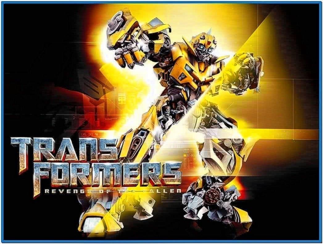 Transformers Revenge of The Fallen Bumblebee Screensaver