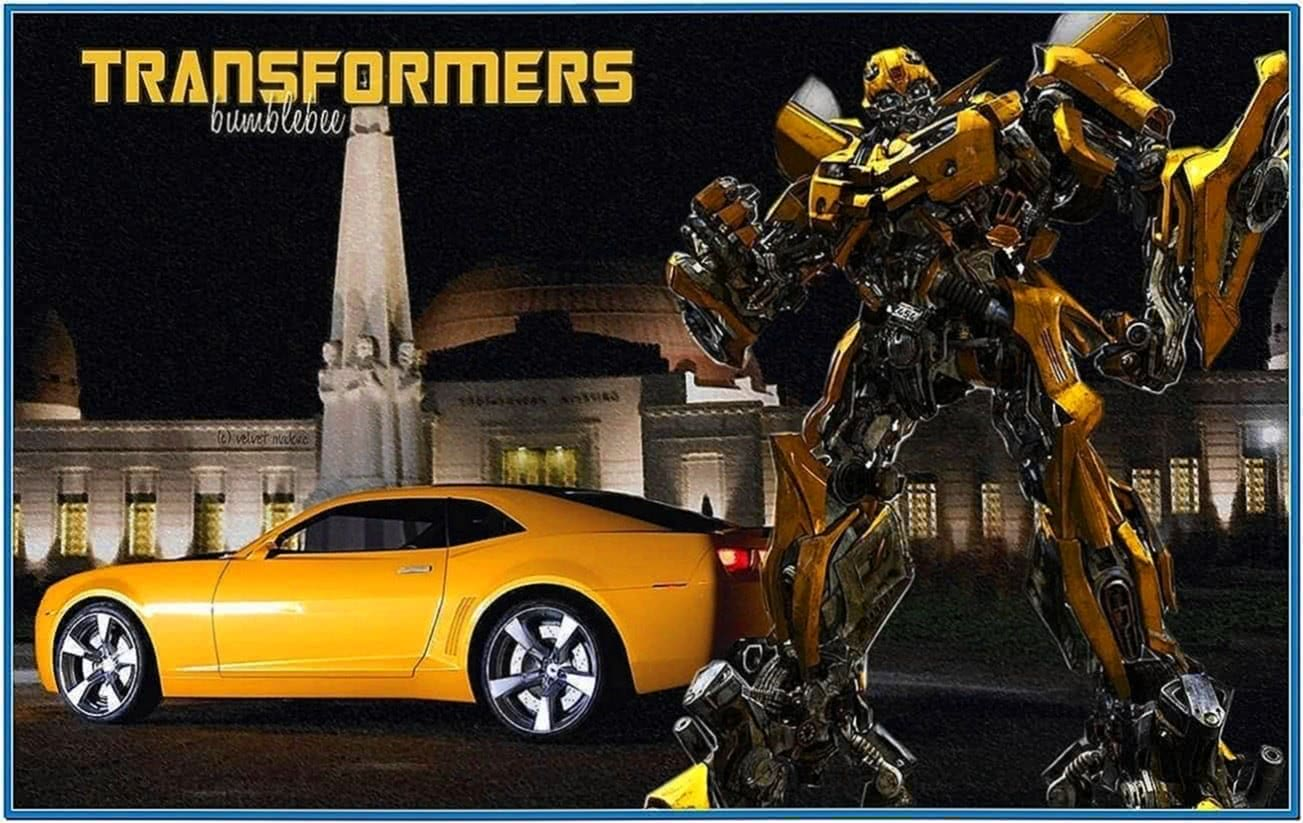 Transformers Revenge of The Fallen Bumblebee Screensaver