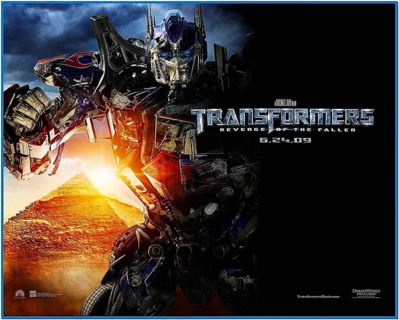 Transformers Revenge of The Fallen Optimus Prime Screensaver