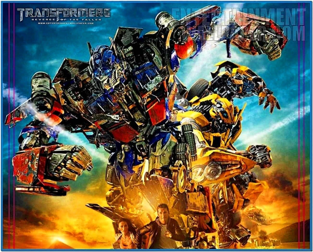 Transformers Revenge of The Fallen Optimus Prime Screensaver