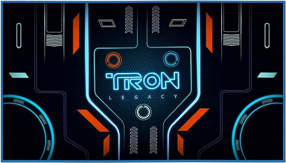 Tron Legacy Grid Screensaver