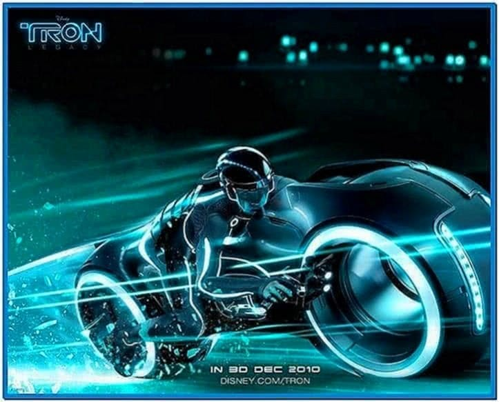 Tron Legacy Screensaver OS X
