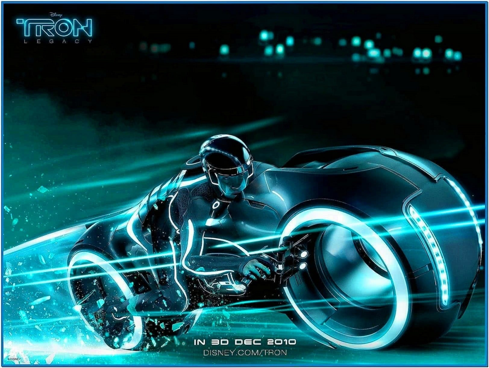 Tron Screensaver 3D