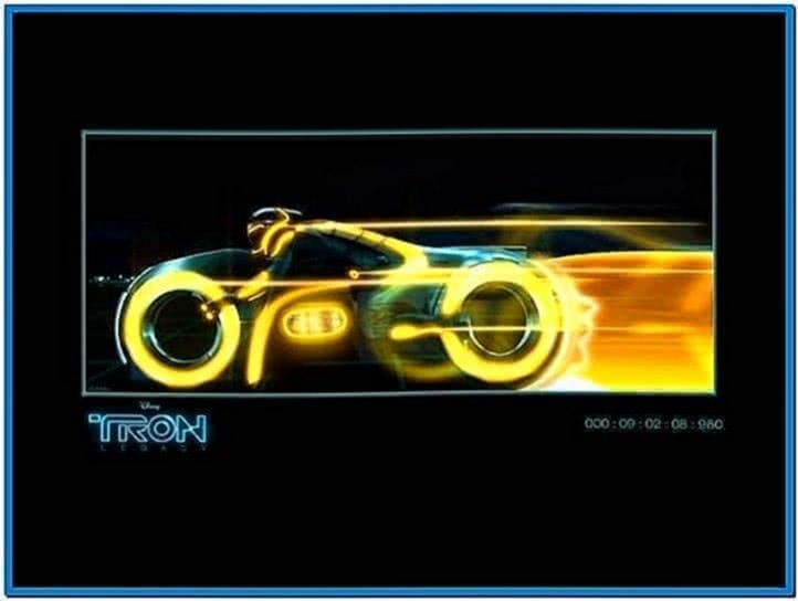 Tron Screensaver Mac OS X