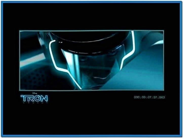 Tron screensaver Windows xp