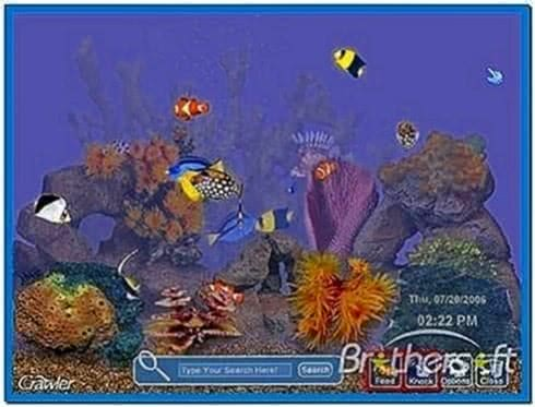 Tropical Aquarium Screensaver 4.2.5.9
