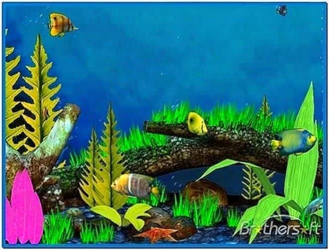 Tropical Fish 3D Screensaver 1.2