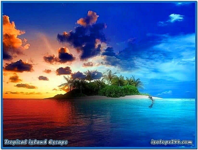 Tropical Islands Screensaver