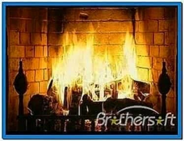 TV Screensavers Fireplace