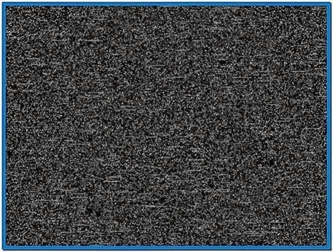 Tv static screensaver