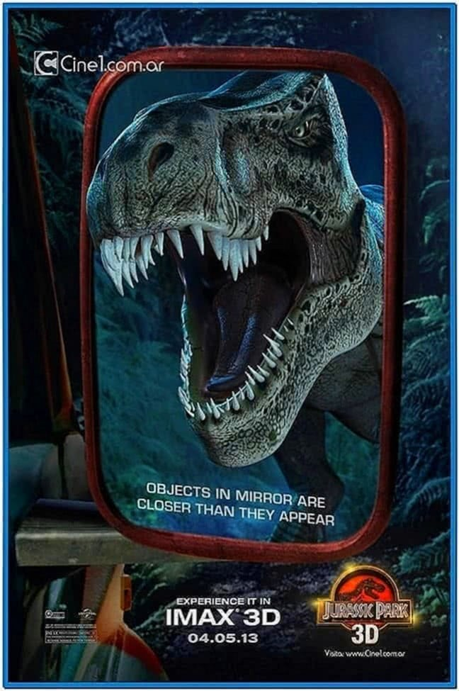 Tyrannosaurus Rex 3D Screensaver 2020